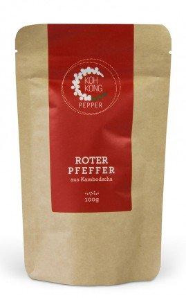 Koh Kong Pfeffer Rot 100 gr.